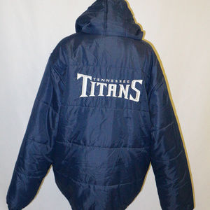 NFL PRO LINE TENNESSEE TITANS 2-in-1 Jacket XL